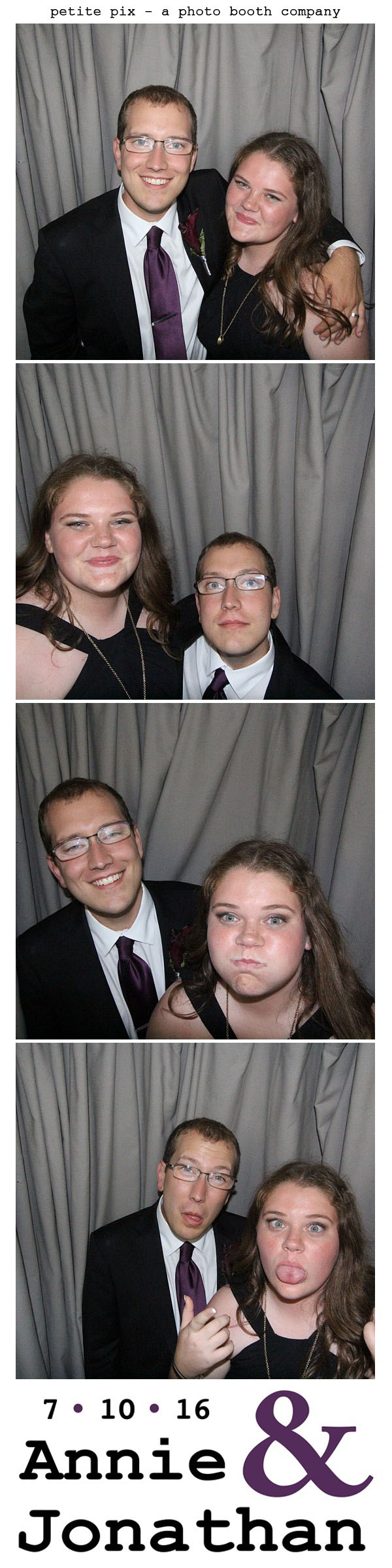 Petite Pix Classic Photo Booth at the Cicada Club in Downtown Los Angeles for Annie and Jonathan's Wedding 69