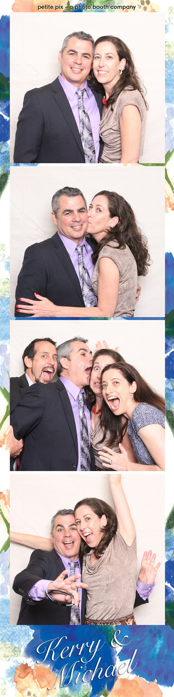 Petite Pix Vintage Photo Booth at the Redondo Beach Historic Library for Kerry and Michael's Wedding 13
