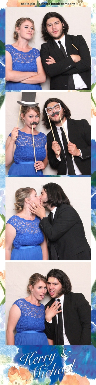 Petite Pix Vintage Photo Booth at the Redondo Beach Historic Library for Kerry and Michael's Wedding 25