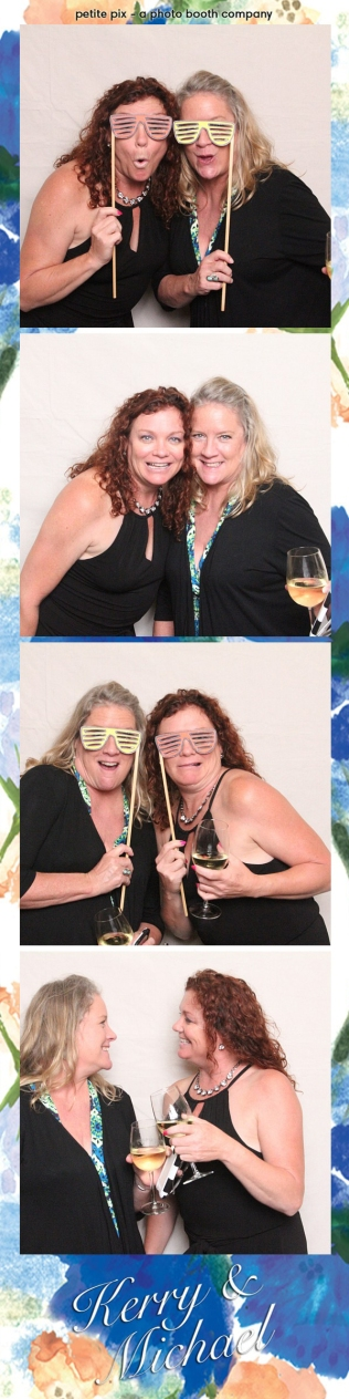 Petite Pix Vintage Photo Booth at the Redondo Beach Historic Library for Kerry and Michael's Wedding 26