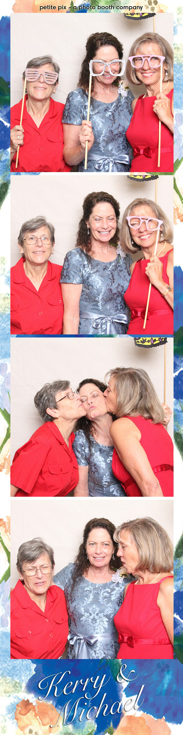 Petite Pix Vintage Photo Booth at the Redondo Beach Historic Library for Kerry and Michael's Wedding 28