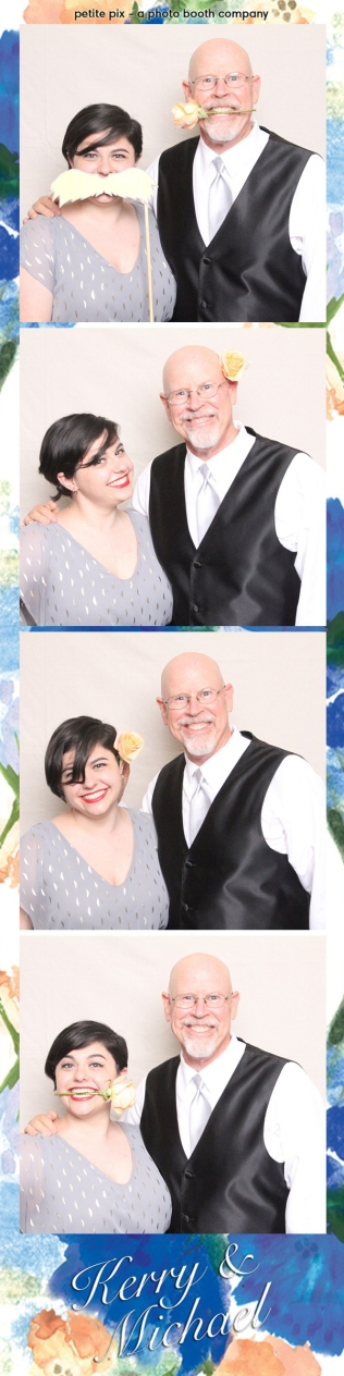 Petite Pix Vintage Photo Booth at the Redondo Beach Historic Library for Kerry and Michael's Wedding 34