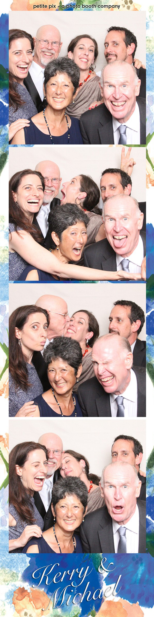 Petite Pix Vintage Photo Booth at the Redondo Beach Historic Library for Kerry and Michael's Wedding 42