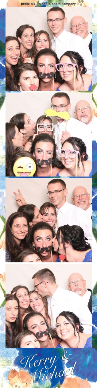 Petite Pix Vintage Photo Booth at the Redondo Beach Historic Library for Kerry and Michael's Wedding 46