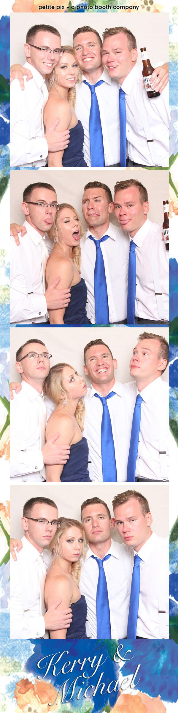 Petite Pix Vintage Photo Booth at the Redondo Beach Historic Library for Kerry and Michael's Wedding 52