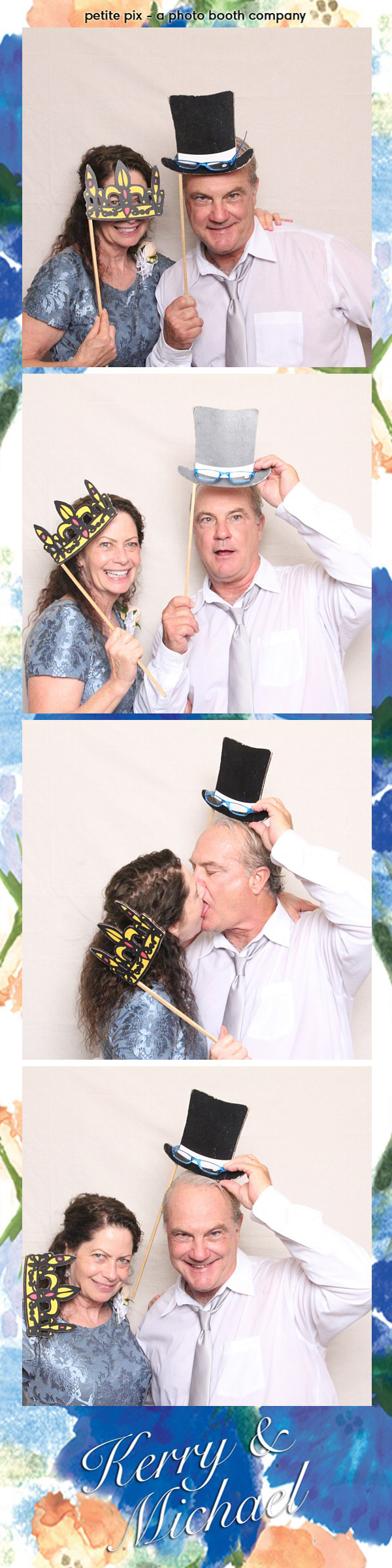 Petite Pix Vintage Photo Booth at the Redondo Beach Historic Library for Kerry and Michael's Wedding 55