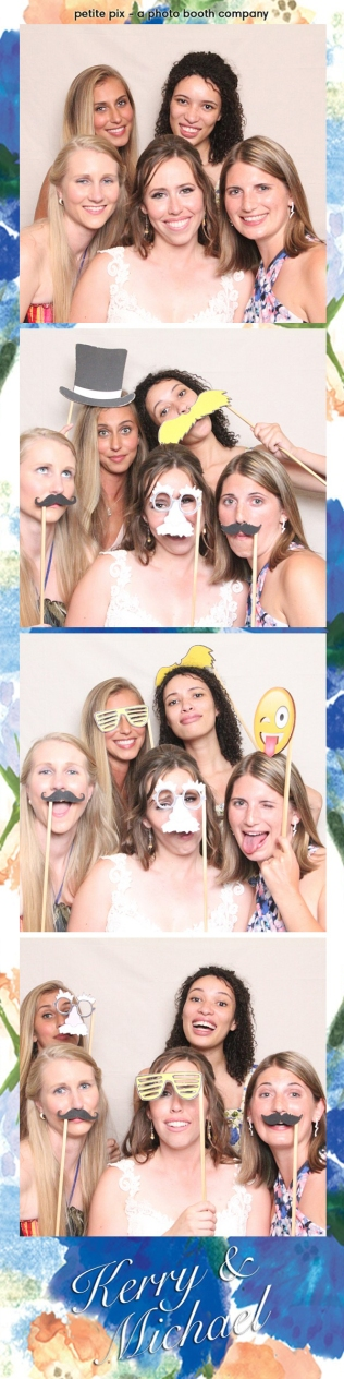 Petite Pix Vintage Photo Booth at the Redondo Beach Historic Library for Kerry and Michael's Wedding 58