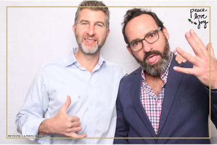 Petite Pix Photo Booth in the Pacific Palisades for the Culp Peace Love Joy Holiday Party (72)