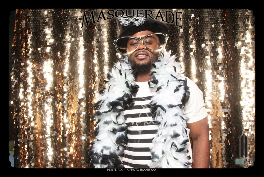 Petite Pix Vintage GIF Photo Booth for Watermarke Tower Masquerade 101