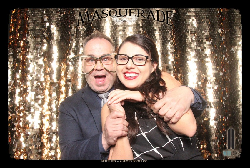 Petite Pix Vintage GIF Photo Booth for Watermarke Tower Masquerade 14