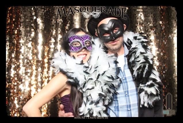 Petite Pix Vintage GIF Photo Booth for Watermarke Tower Masquerade 16