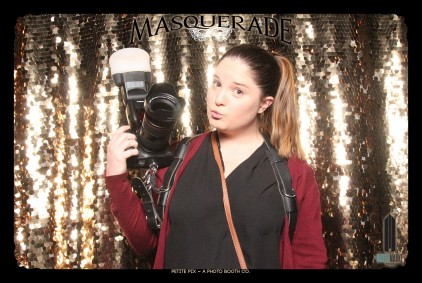 Petite Pix Vintage GIF Photo Booth for Watermarke Tower Masquerade 2