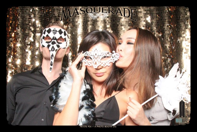Petite Pix Vintage GIF Photo Booth for Watermarke Tower Masquerade 42