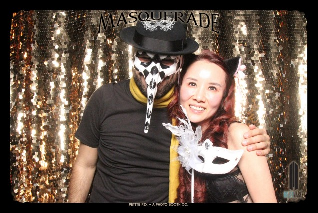 Petite Pix Vintage GIF Photo Booth for Watermarke Tower Masquerade 48