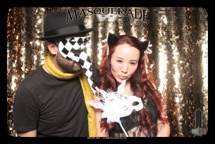 Petite Pix Vintage GIF Photo Booth for Watermarke Tower Masquerade 50