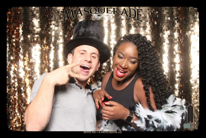 Petite Pix Vintage GIF Photo Booth for Watermarke Tower Masquerade 75
