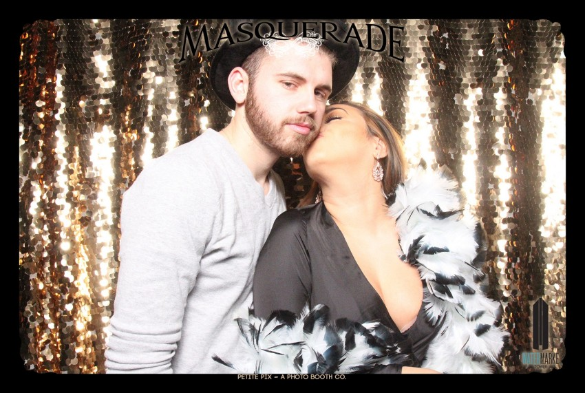 Petite Pix Vintage GIF Photo Booth for Watermarke Tower Masquerade 80