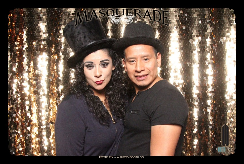 Petite Pix Vintage GIF Photo Booth for Watermarke Tower Masquerade 85