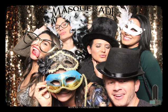 Petite Pix Vintage GIF Photo Booth for Watermarke Tower Masquerade 88