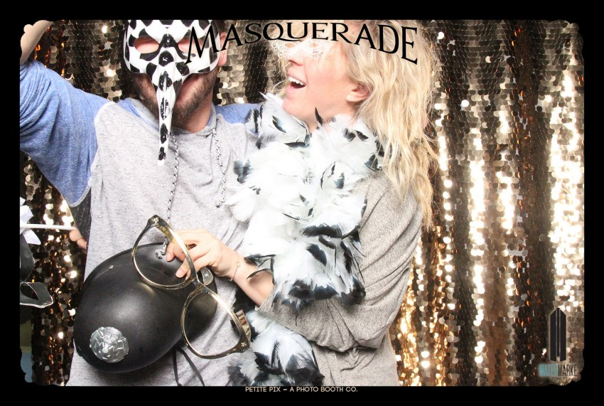 Petite Pix Vintage GIF Photo Booth for Watermarke Tower Masquerade 99